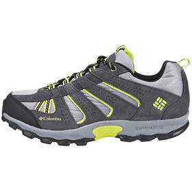 Columbia North Plains Waterproof Shoes Youths grey ash/voltage